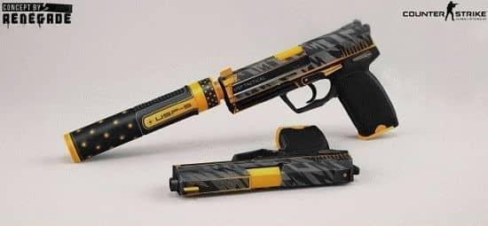 Модель пистолета USP | Orion для CS:GO