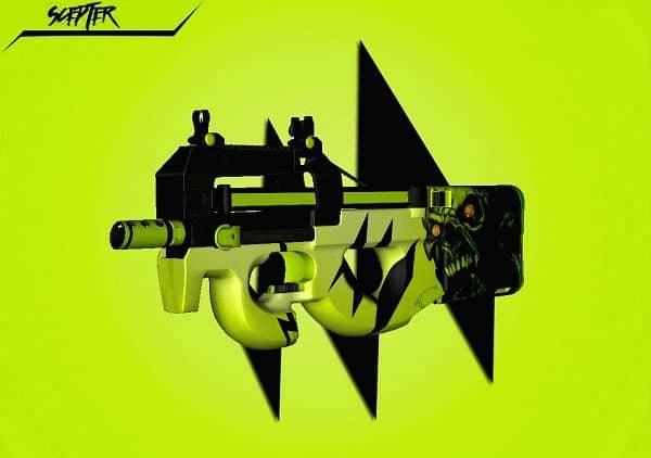 Модель оружия P90 | Catalyst для CS:GO