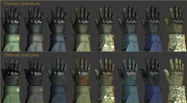 Default CT glove retexture для кс го