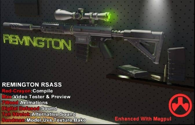 Remington RSASS для кс го