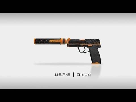 USP-S   Orion для кс го