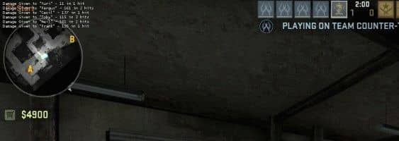 Способ вывести нанесенный и полученный урон на экран в CS GO