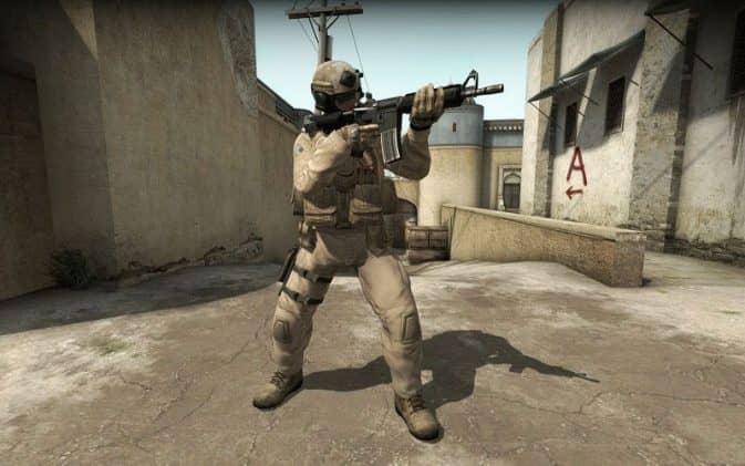 Скины игроков USMC Force Recon для CS:GO
