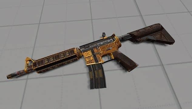 Модель оружия M4A4 Technicality для CS:GO