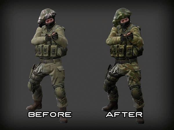 Скины игроков KT Lizard Camo IDF для CS:GO