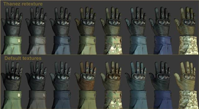 Default CT glove retexture для кс го