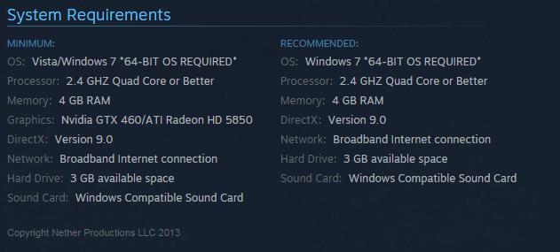 CS GO системные требования