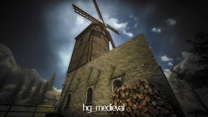 Карта hg_medieval для кс го