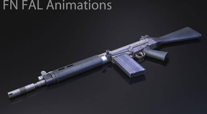 Galil AR — FN FAL Animations для кс го